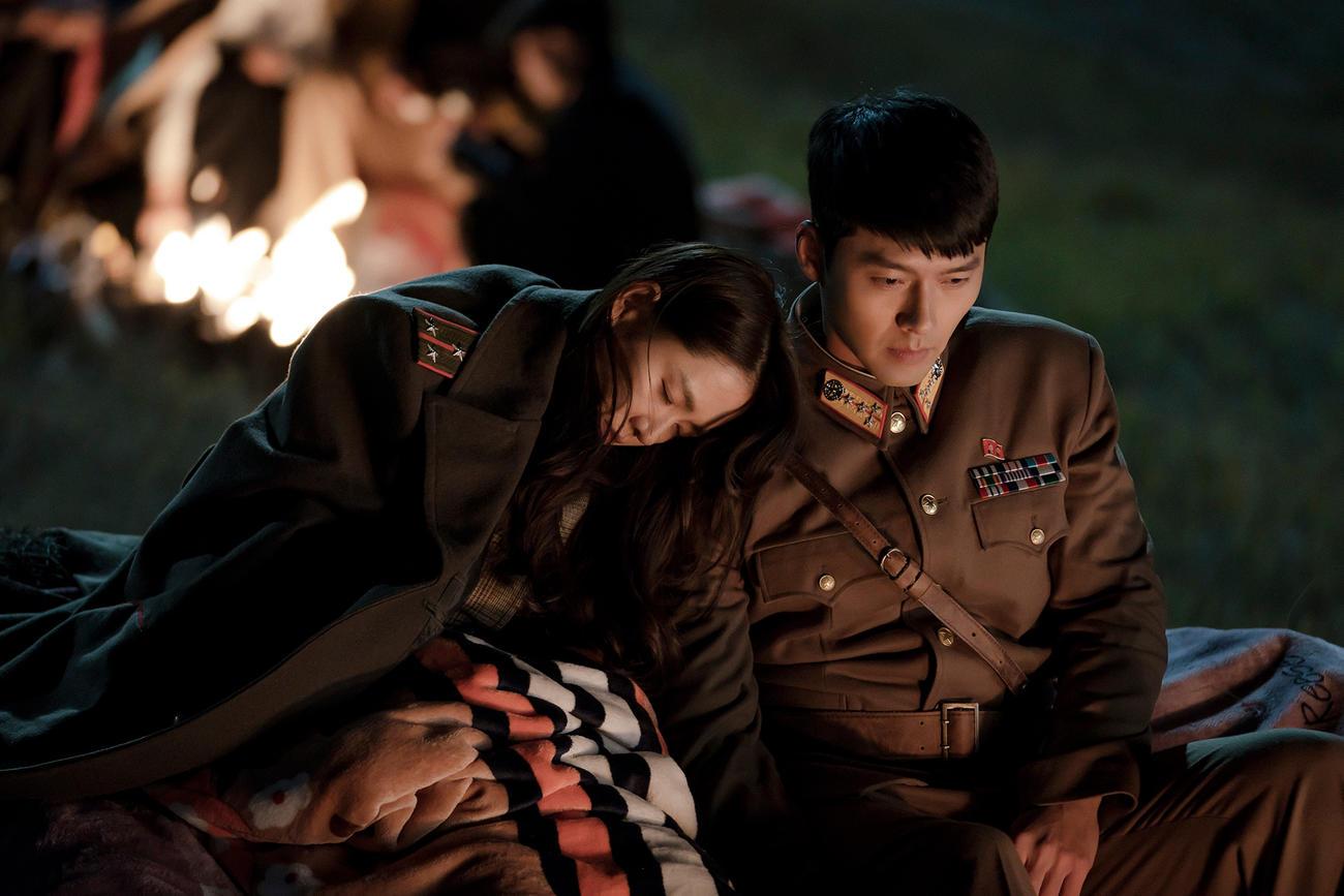 韓国ドラマ「愛の不時着」のワンシーン(Netflixオリジナルシリーズ「愛の不時着」独占配信中)