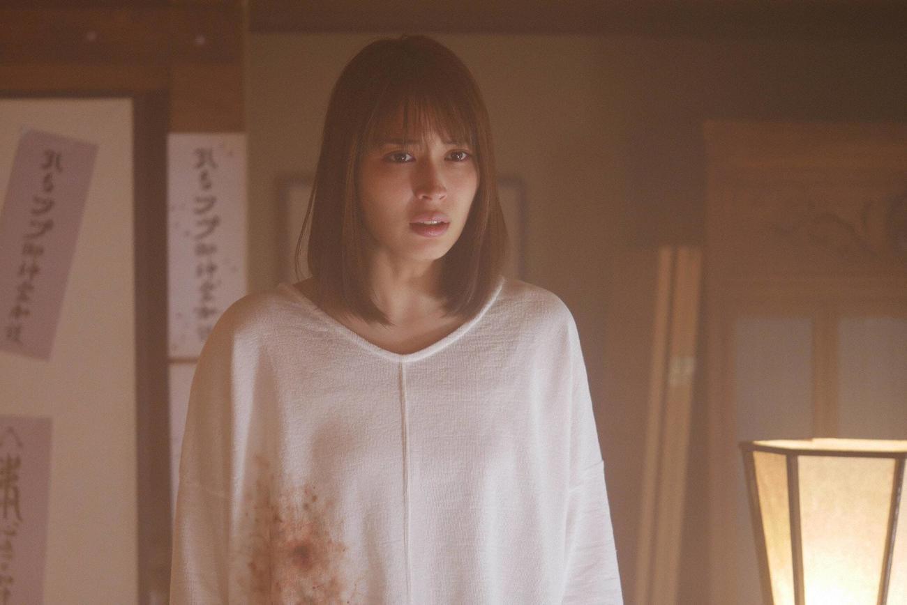 「世にも奇妙な物語'20夏の特別編」の「しみ」に主演する広瀬アリス(C)フジテレビ