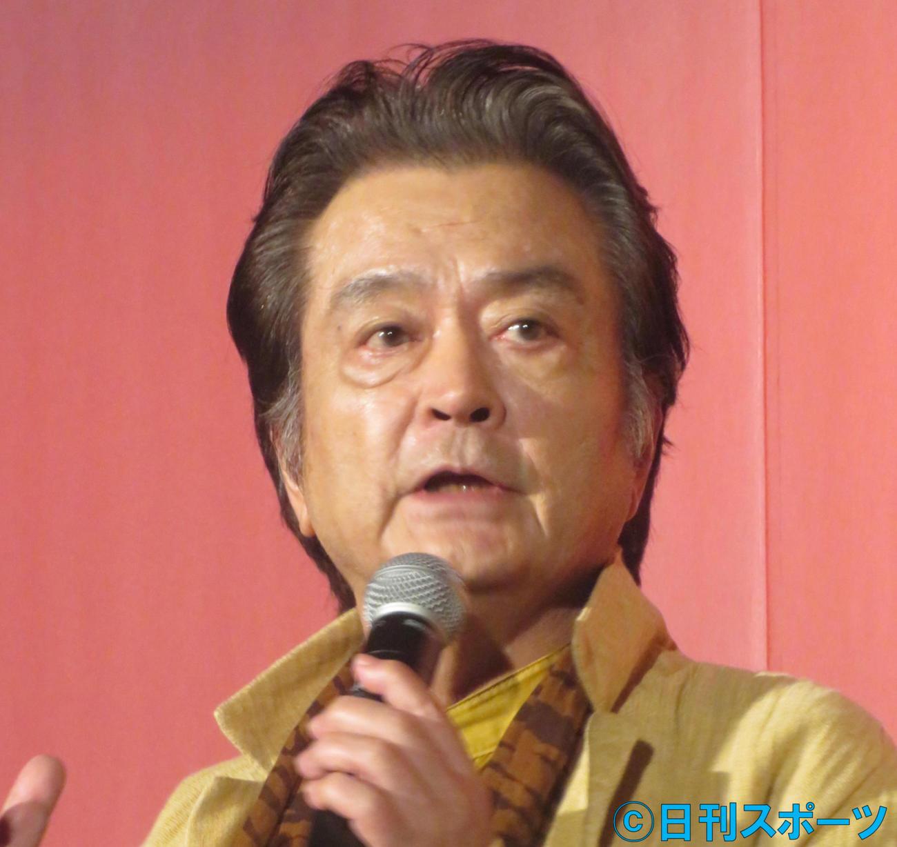 大和田伸也(2019年8月8日撮影)