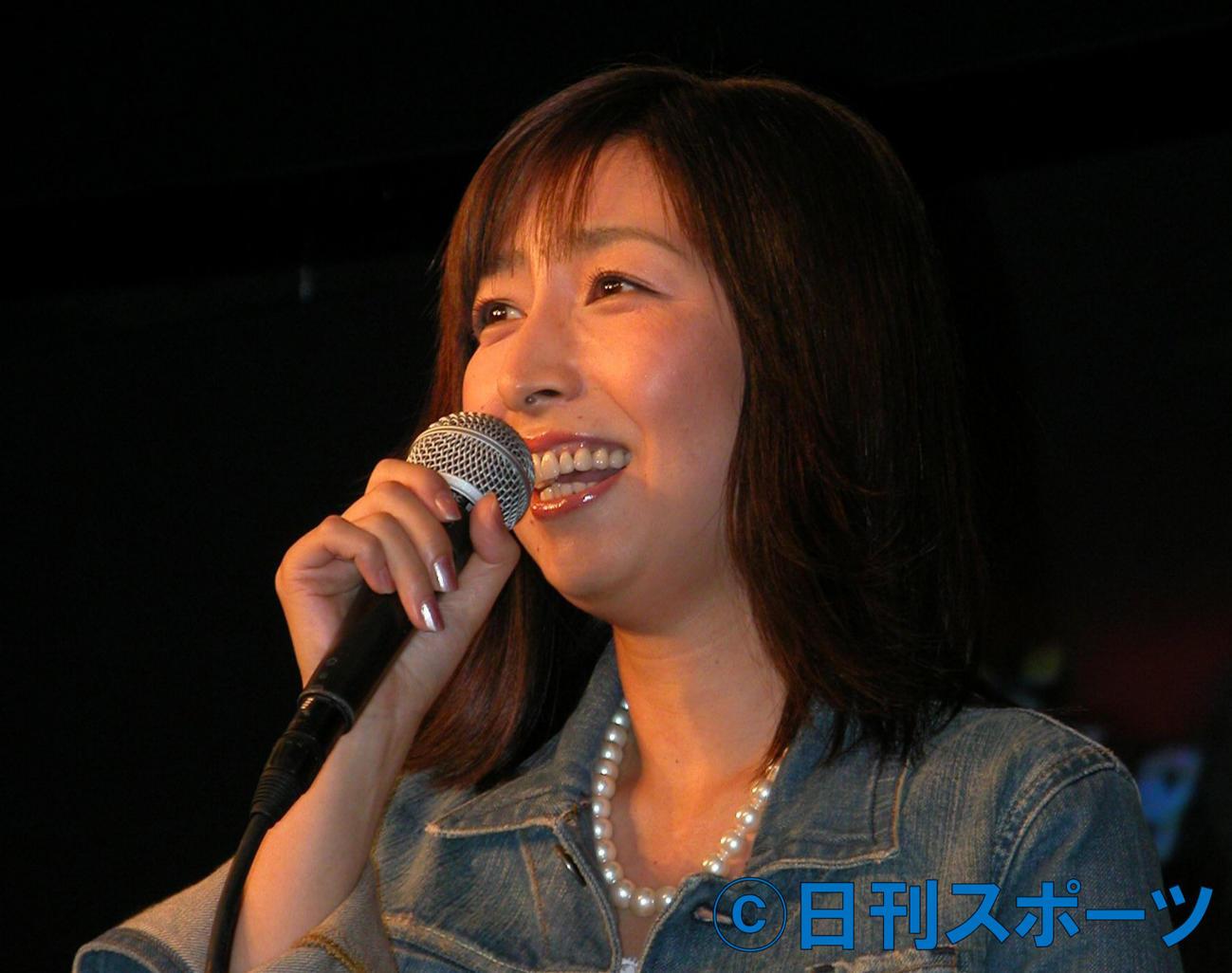 岡村孝子(04年8月撮影)
