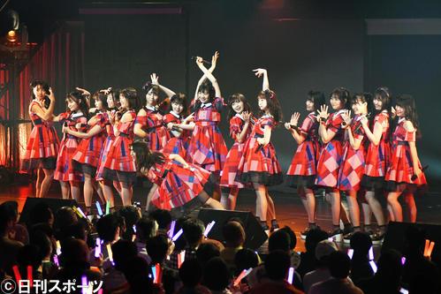 1年9カ月ぶりのシングル発売が決まったNGT48(20年1月18日撮影)