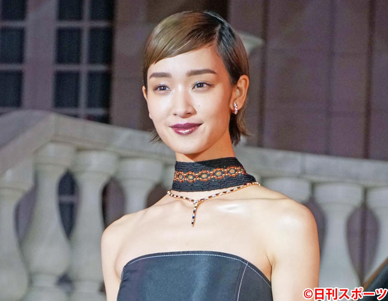 剛力彩芽(2019年10月24日撮影)