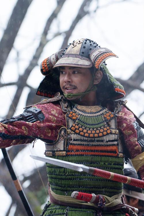 "Tsubasa Imai [C] NHK starring Shinsuke Mori in the NHK ""Kirin ga Kuru"""