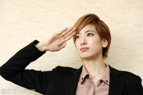 花組トップ柚香光「心から感謝」7・17宝塚再開