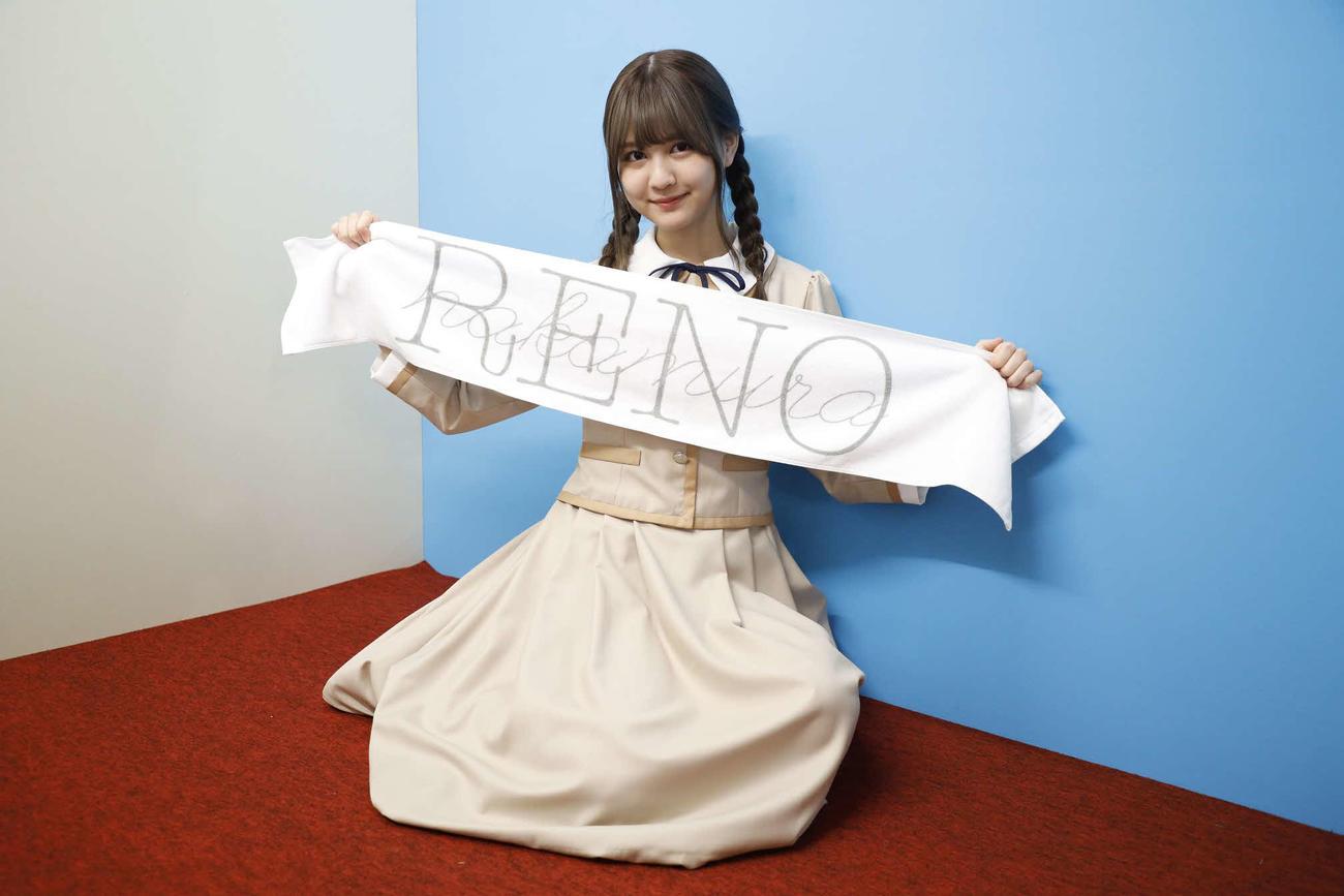 ABEMA「乃木坂46時間TV」個室ブースで笑顔を見せる中村麗乃