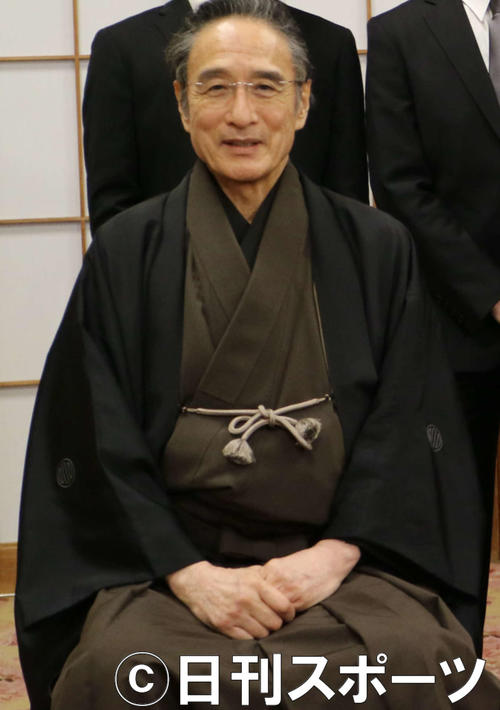 "Photo of Matsushimaya's third generation appears in the online talk ""Kabuki Family Story"""