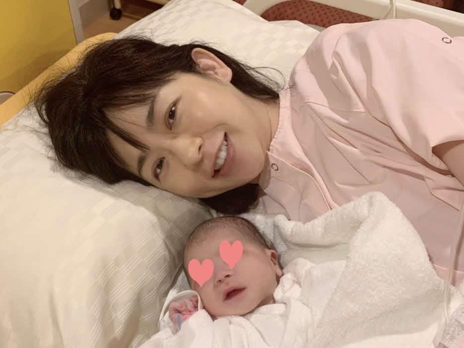 第1子男児を出産したテレビ朝日松尾由美子アナウンサー