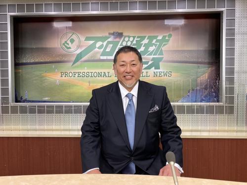 "Photo of Kazuhiro Kiyohara Appeared in ""Professional Baseball News"""