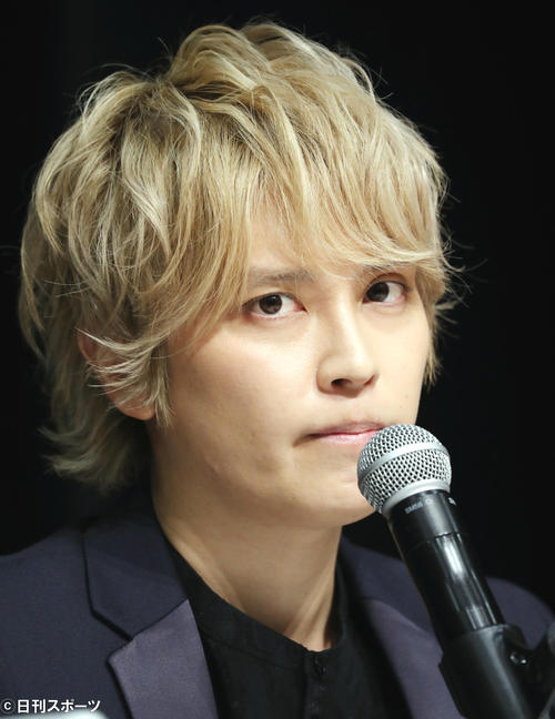 "Photo of Tegoshi ""Those who understand my feelings"" Thank Vice President Takizawa"