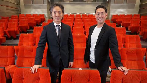 Photo of Nakamura Kankuro & Nakamura Nananosuke, Kabuki students delivered from July theater