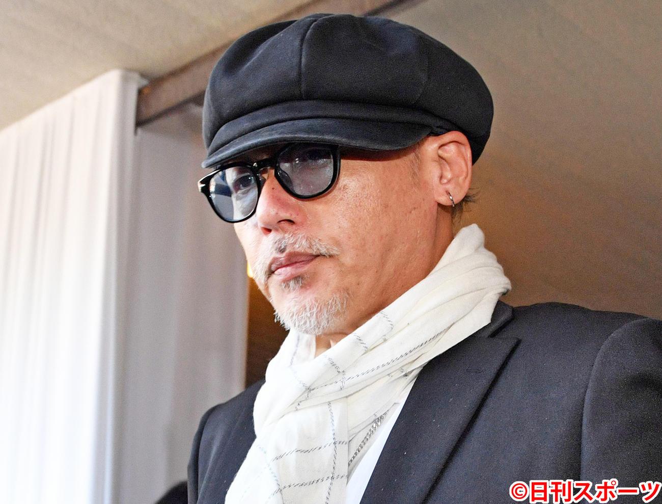 田代まさし被告(2019年4月3日撮影)