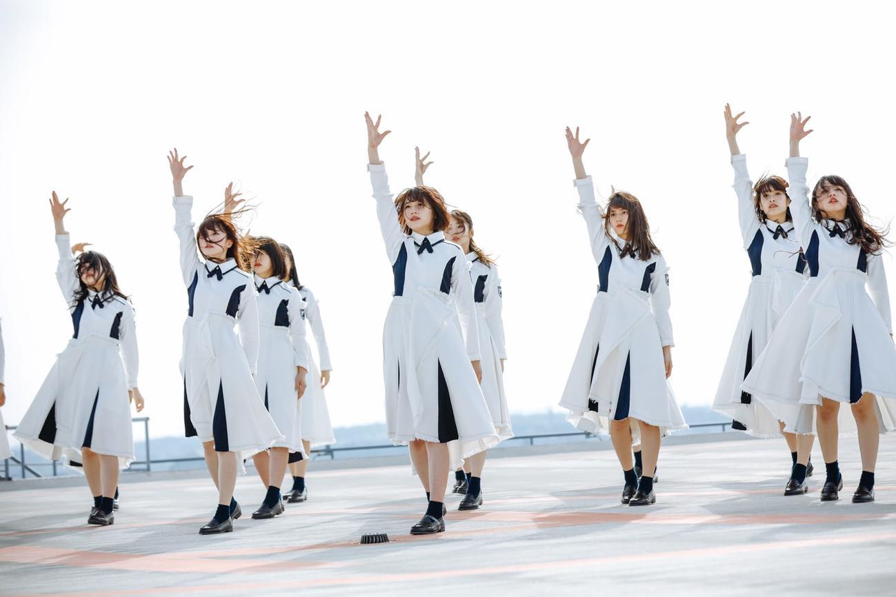 日向坂46初のドキュメンタリー映画「3年目のデビュー」のイメージカット