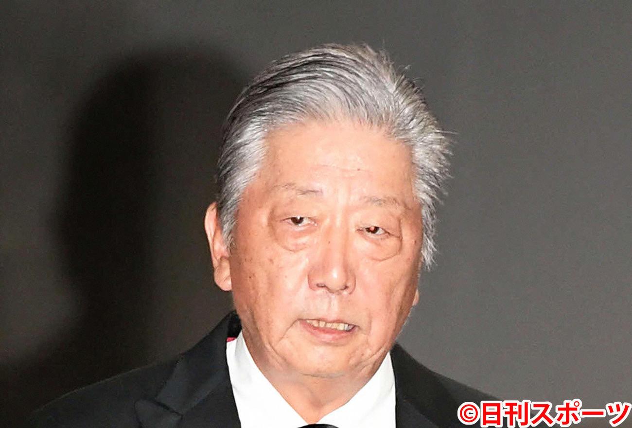 伊集院静氏(2019年9月4日撮影)
