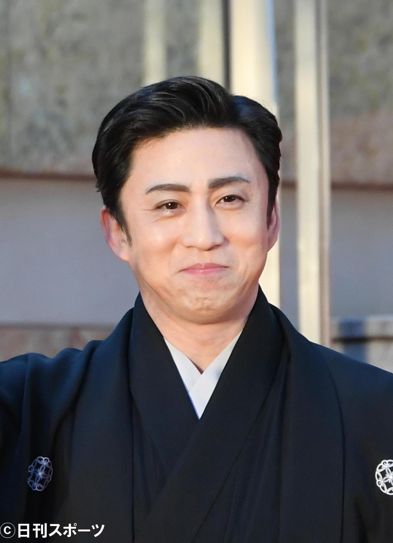 松本幸四郎(2019年10月28日撮影)