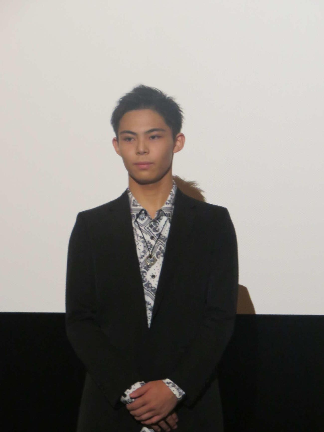 映画初主演で主演した上村侑