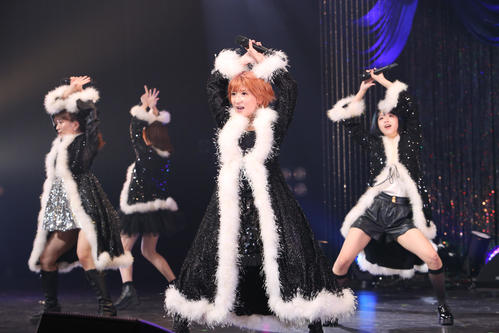 "Photo of Mari Yaguchi's ""Yamasashi"" Mo Musume song showcase?"