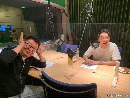 井上芳雄「勉強に」生島ヒロシのラジオにゲスト出演