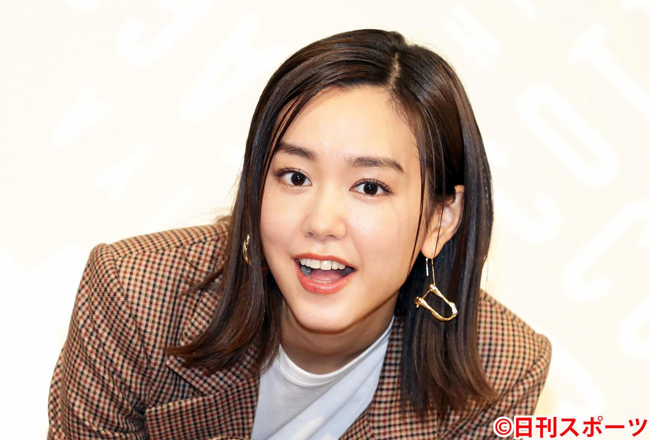 桐谷美玲(2019年12月15日撮影)