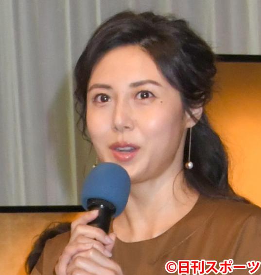 松嶋菜々子(2018年4月26日撮影)