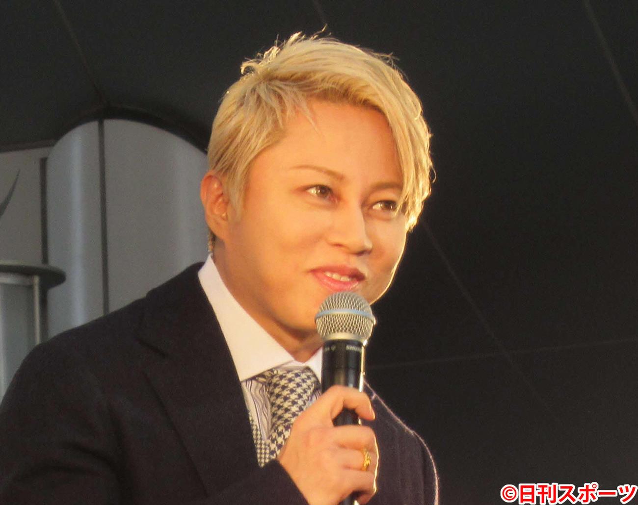 西川貴教(2019年11月10日撮影)