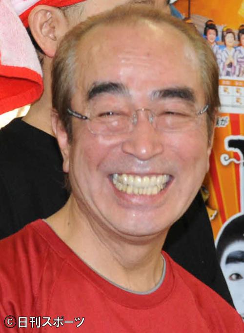 志村けんさん(2011年6月20日撮影)