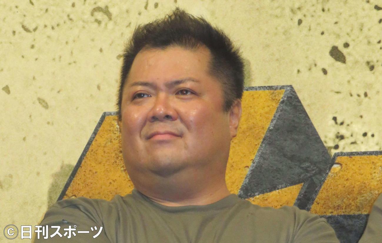 ブラックマヨネーズ小杉竜一(2016年9月26日撮影)