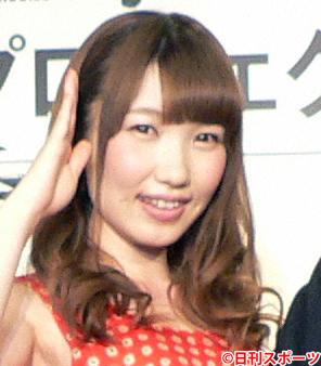内田彩(2014年4月21日撮影)