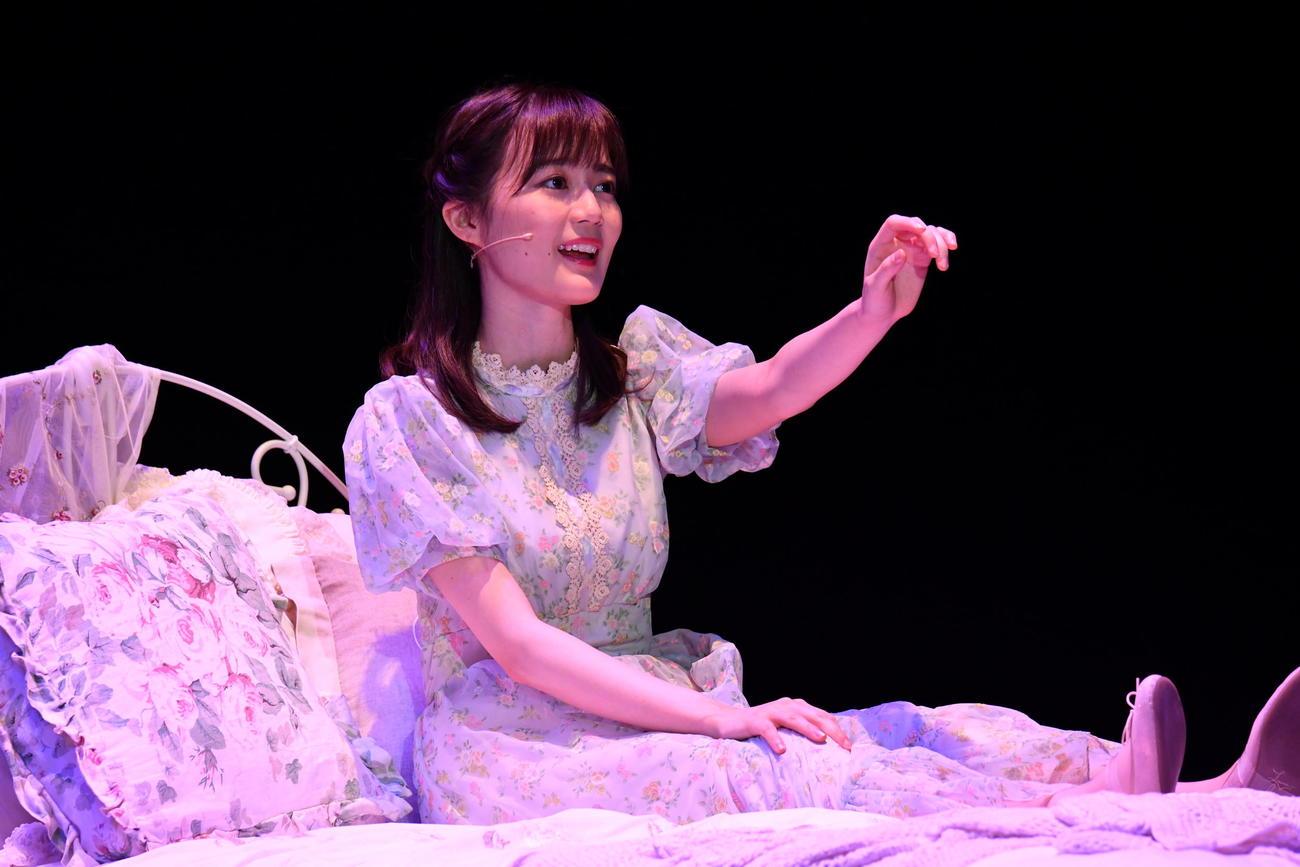 ミュージカル「Happily Ever After」に出演した生田絵梨花