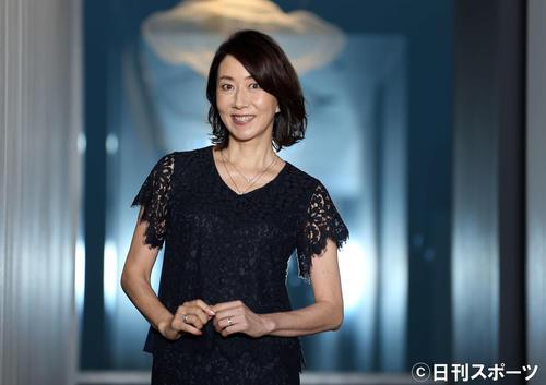 長野智子(2017年7月14日撮影)