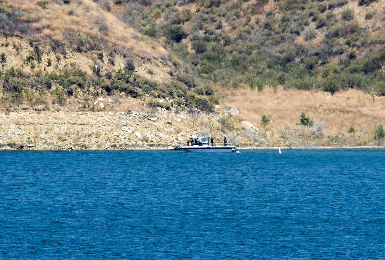 ナヤ・リベラさんの遺体が発見されたカリフォルニア州のピルー湖(AP)