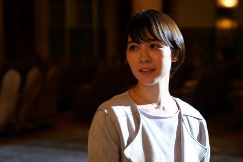 フジ系ドラマ「探偵・由利麟太郎」最終回を前にコメントを寄せた吉谷彩子