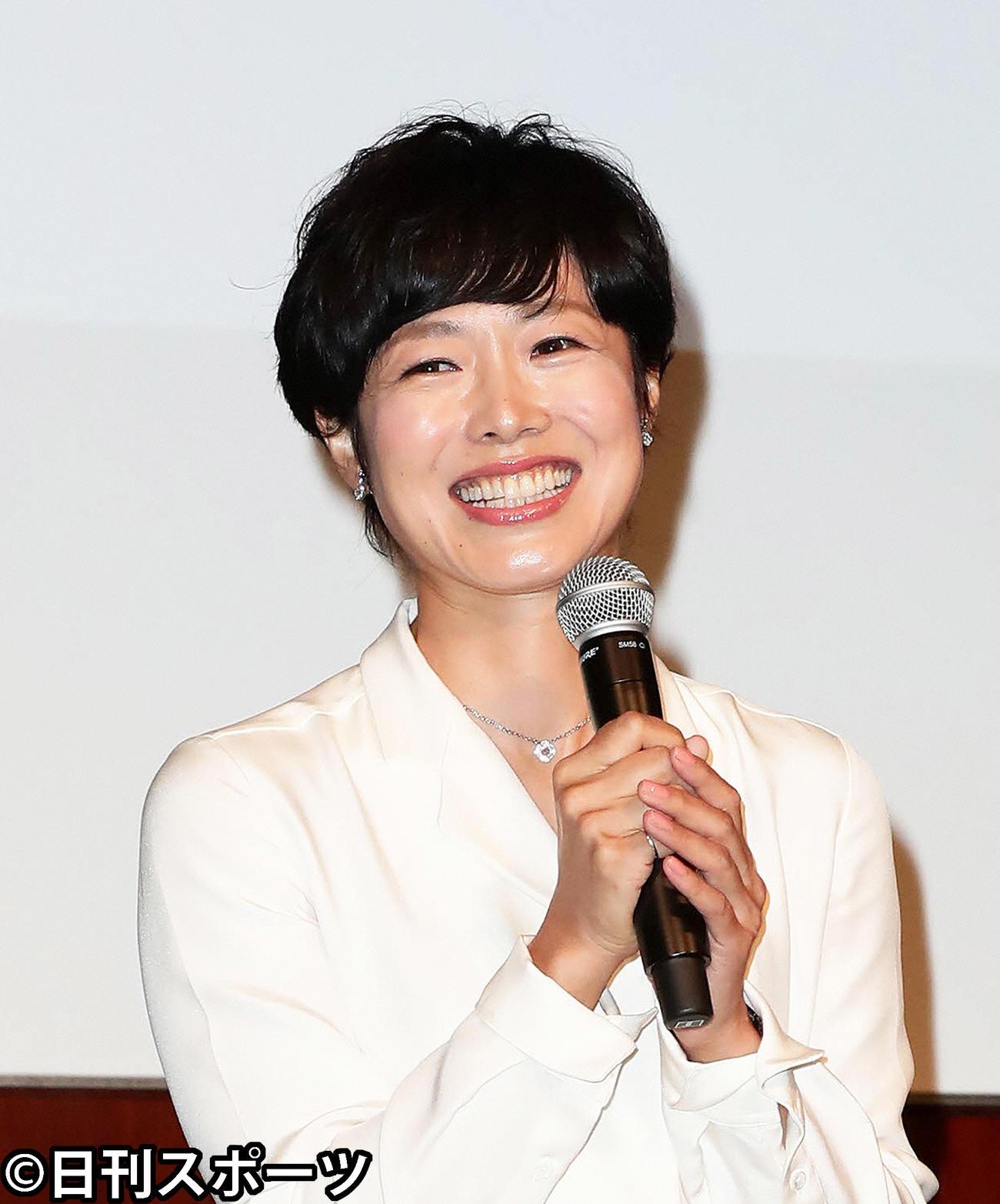 有働由美子(2018年9月4日撮影)