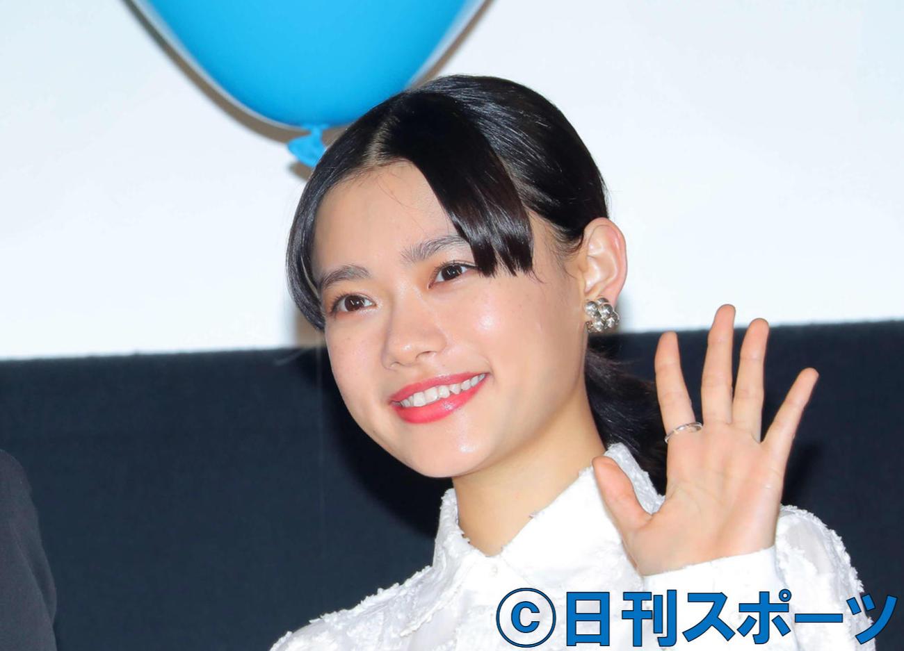 杉咲花(2020年3月23日撮影)