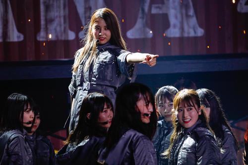 初のオンラインライブを開催した欅坂46
