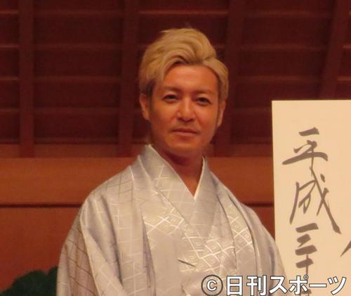 "Photo of Tsuru no Takeshi ""Historical Moments"" First title Fujii Nandan blessing"