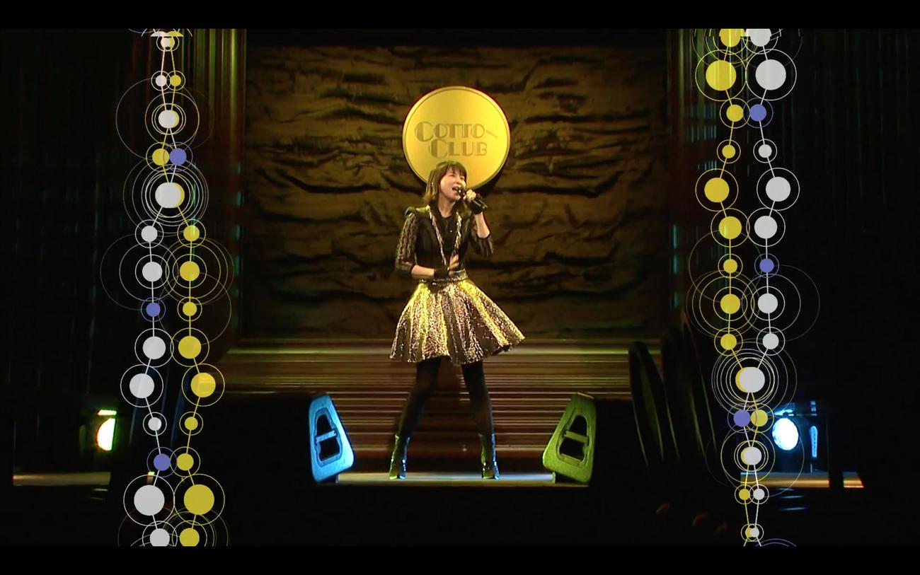 初のオンラインライブ「配信デビュー!初!ファンが選ぶ森高ソング ベスト 10 !!~森高千里歌唱にてドキドキの発表!~」を行った森高千里