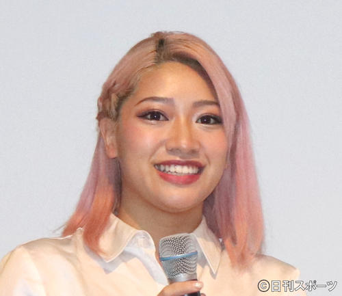 木村花さん(2020年1月13日撮影)