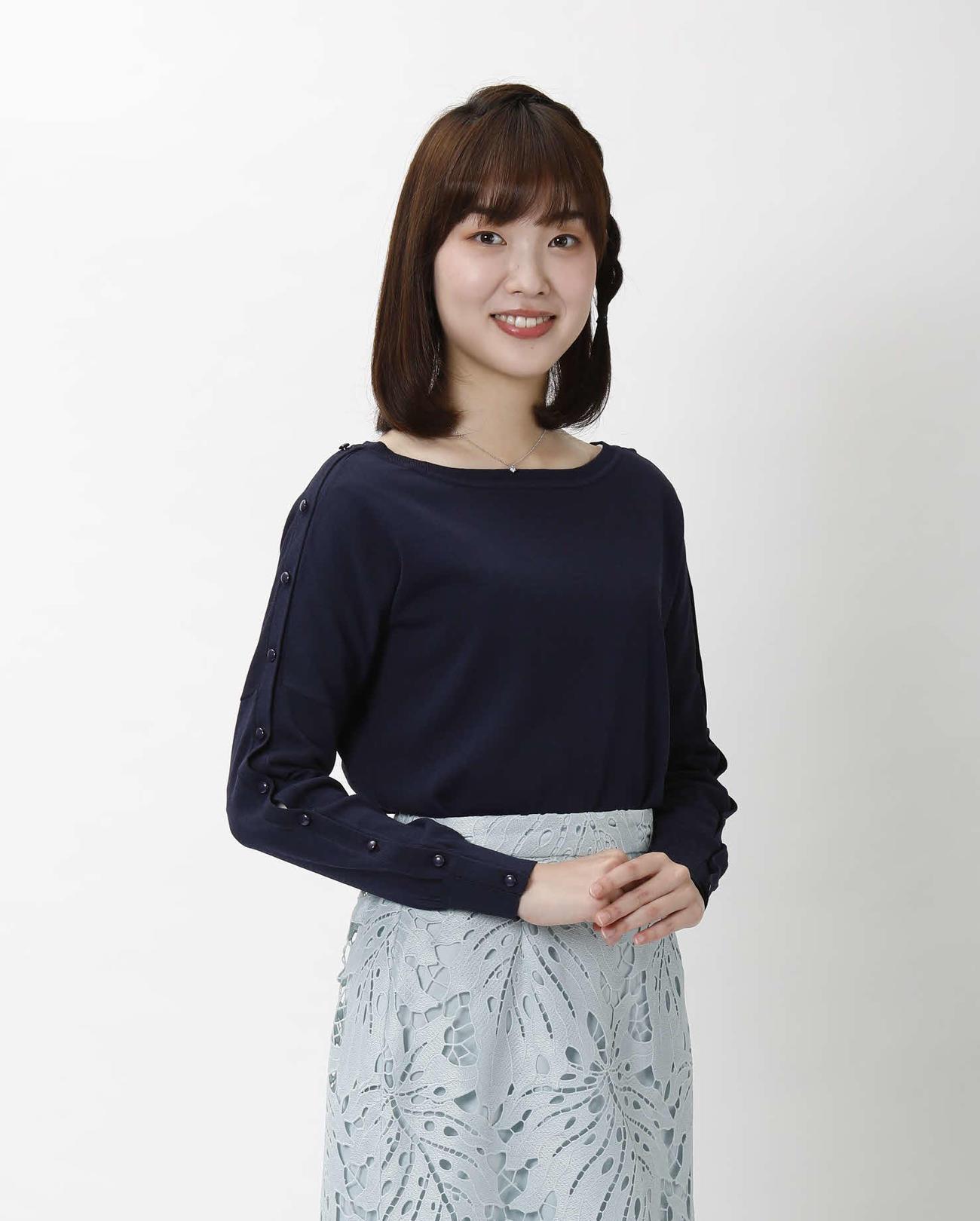 ABCテレビの沢田有也佳アナウンサー(朝日放送テレビ提供)