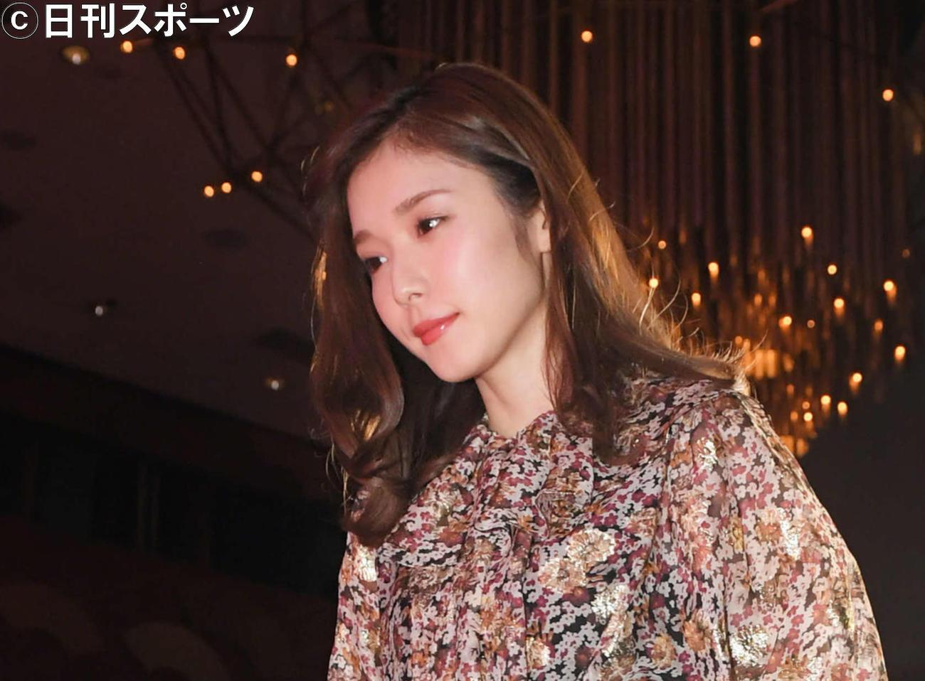 松岡茉優(2019年12月28日撮影)