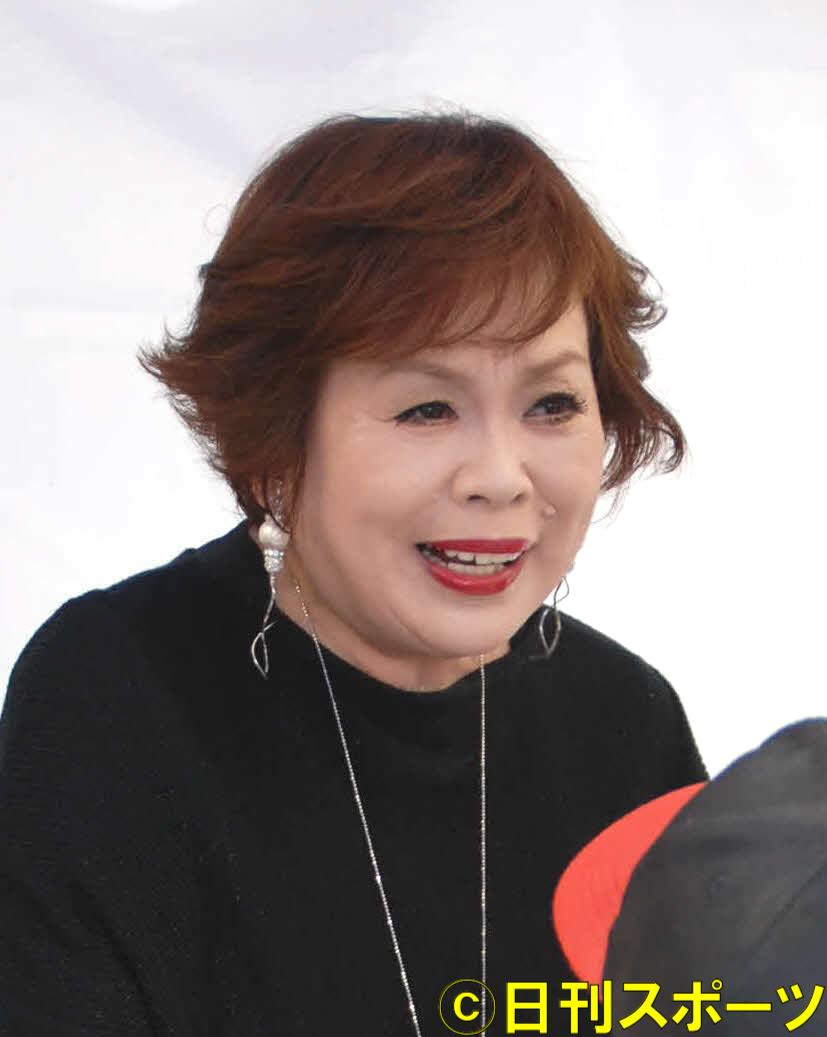 上沼恵美子(2019年11月17日撮影)