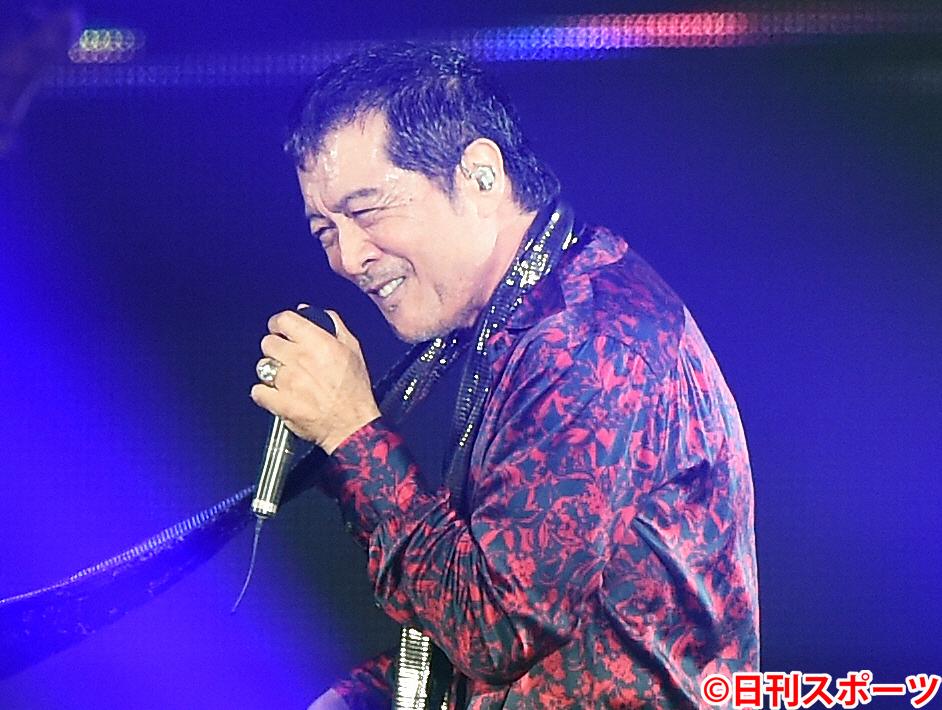 矢沢永吉(2014年9月6日撮影)