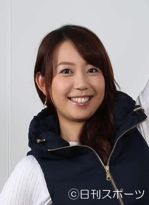 須黒清華アナウンサー(15年10月撮影)