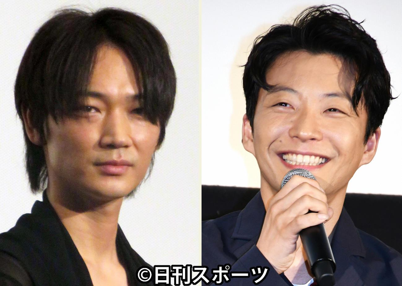 TBS系新ドラマ「MIU404」ダブル主演の綾野剛(左)と星野源