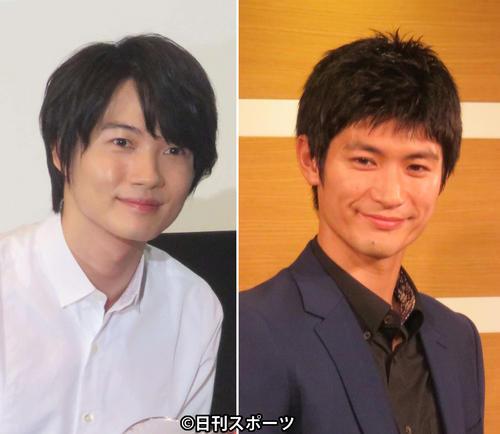 神木隆之介(左)、三浦春馬さん
