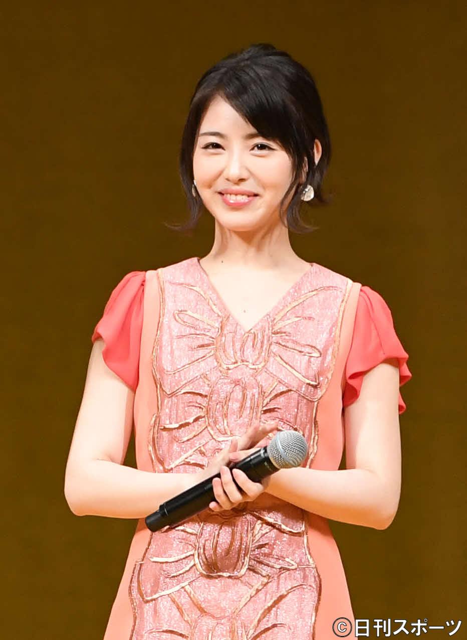 映画「となりの怪物くん」ファッションショーイベント 試写会に登場した浜辺美波(2018年4月11日撮影)