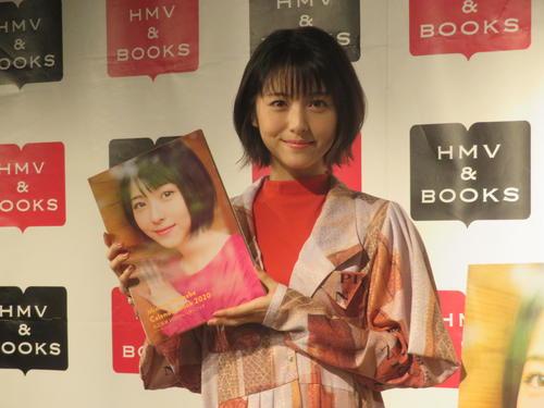 「浜辺美波2020カレンダーブック」出版記念イベントに出席した浜辺美波(2019年9月1日撮影)