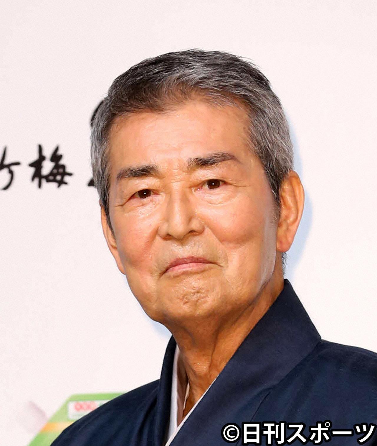 渡哲也さん(14年撮影)