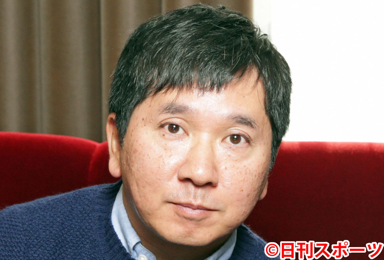 爆笑問題の田中裕二(2015年10月30日撮影)