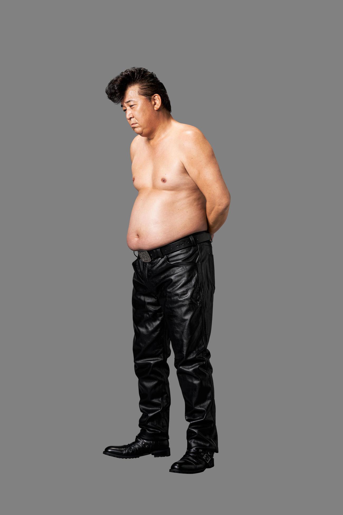 医師から糖尿病と余命を宣告され、ライザップの健康ダイエットを受ける決意をした当時の嶋大輔