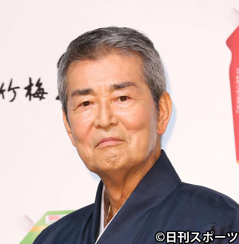 渡哲也さん(2014年8月12日撮影)
